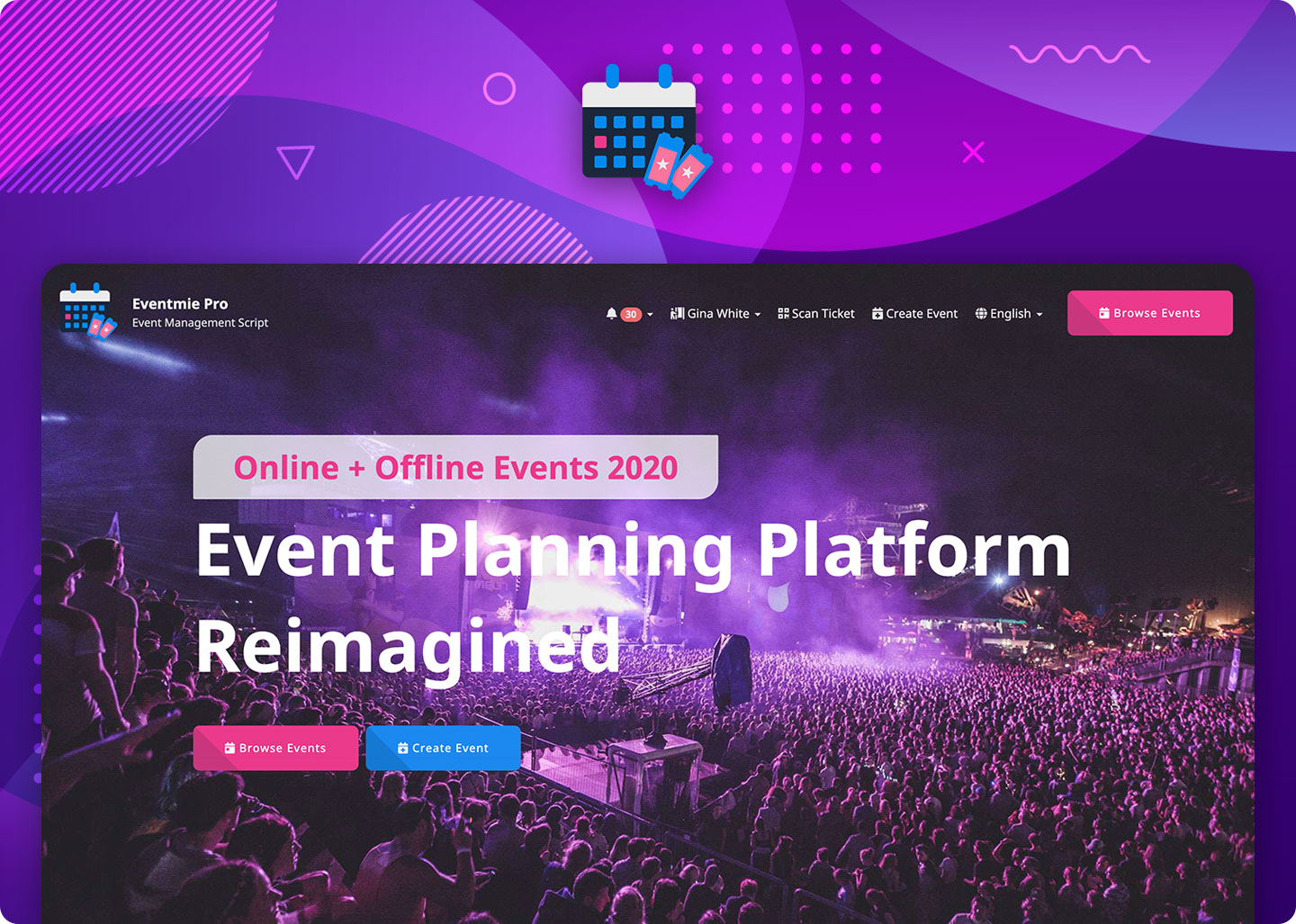 Eventmie Pro - Event planning reimagined with Laravel