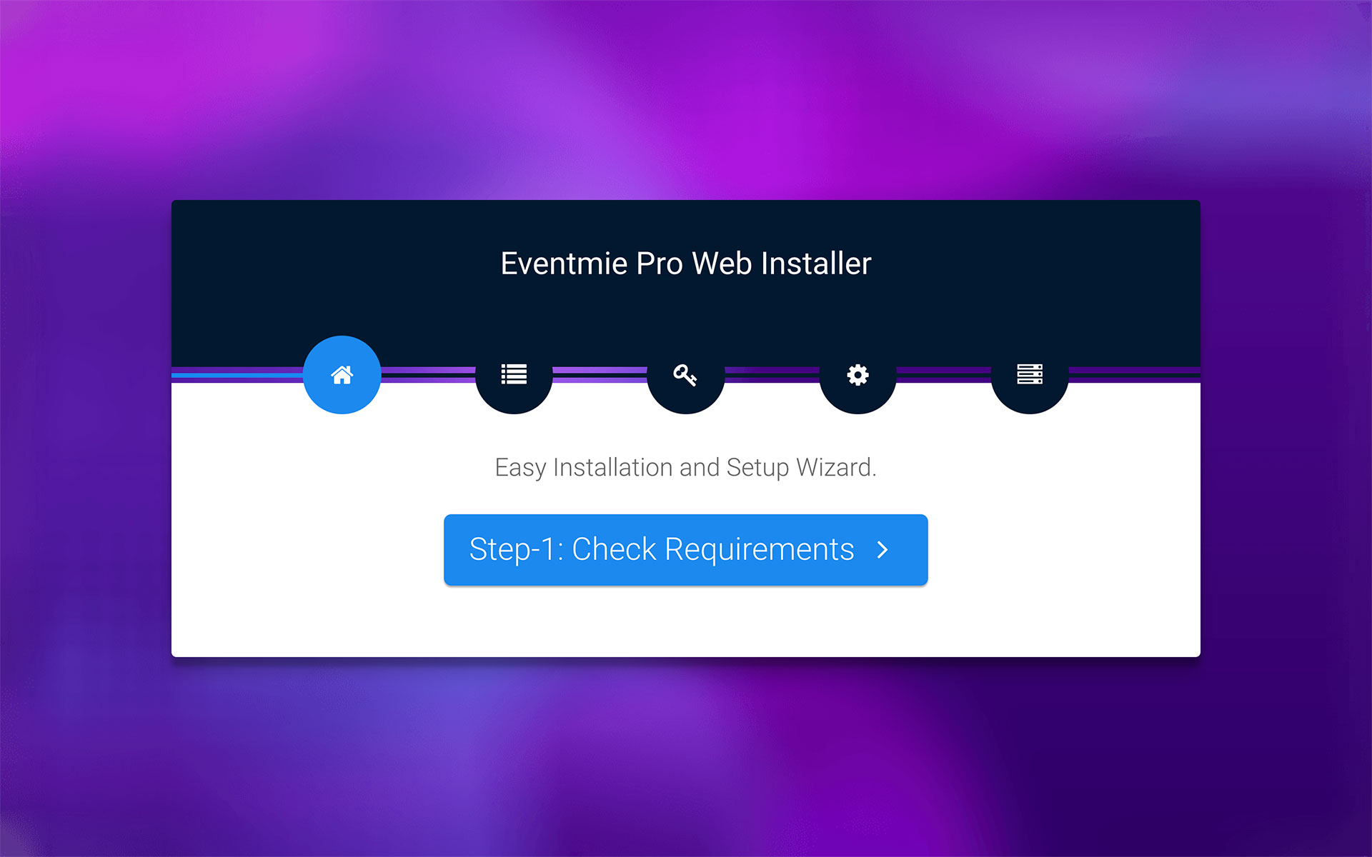 Eventmie Web Installer